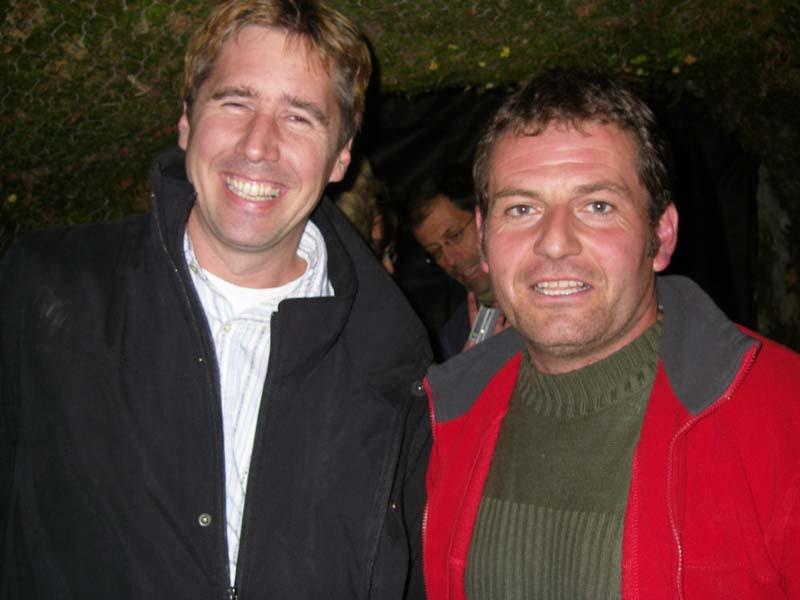 Stéphane Demont et Jean-Marc Crousaz